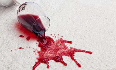Wine Carpet Stain